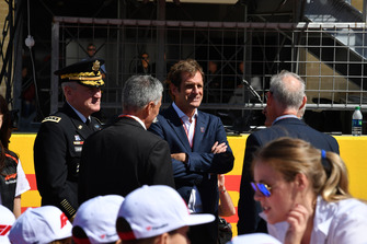 Bobby Epstein, US GP Promoter on the grid