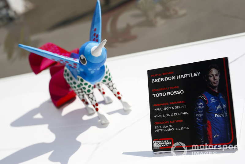 Гран Прі Мексики: статуетка Брендона Хартлі, Toro Rosso