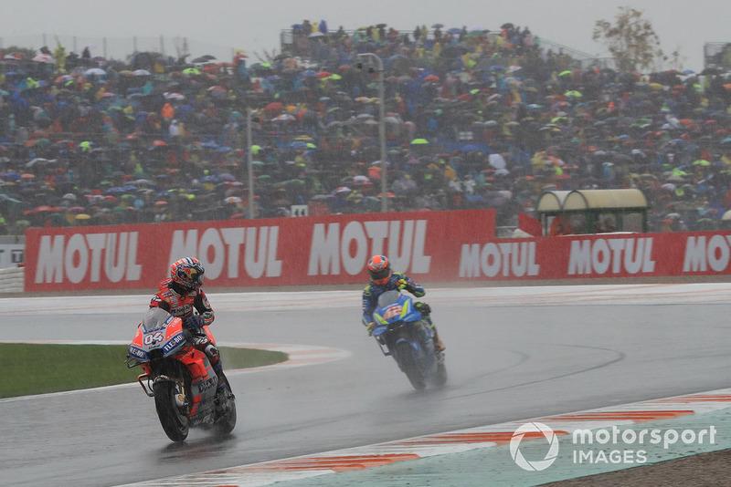 Ganador, Andrea Dovizioso, Ducati Team, segundo, Alex Rins, Team Suzuki MotoGP