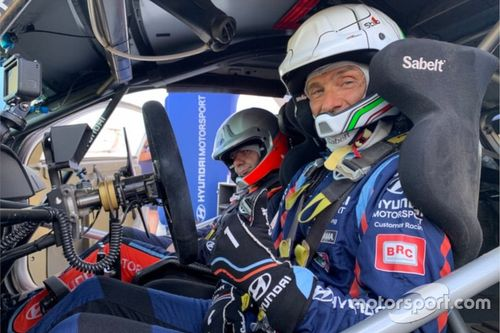 Tarquini testant la Hyundai i20 Coupe WRC