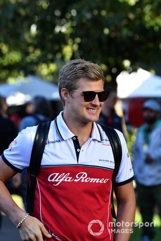Marcus Ericsson, Reserve Driver, Alfa Romeo Racing