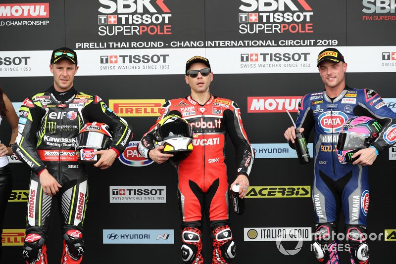 Jonathan Rea, Kawasaki Racing, Alvaro Bautista, Aruba.it Racing-Ducati Team, Alex Lowes, Pata Yamaha