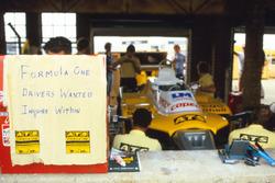 El equipo ATS team tras la huelga de pilotos