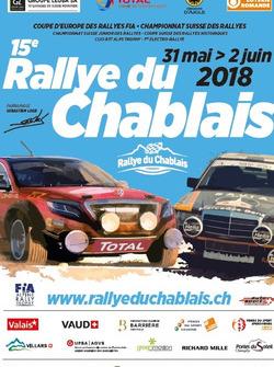 Rallye du Chablais, theaterplakat 2018