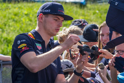 Max Verstappen signs autographs during the Jumbo Race Days