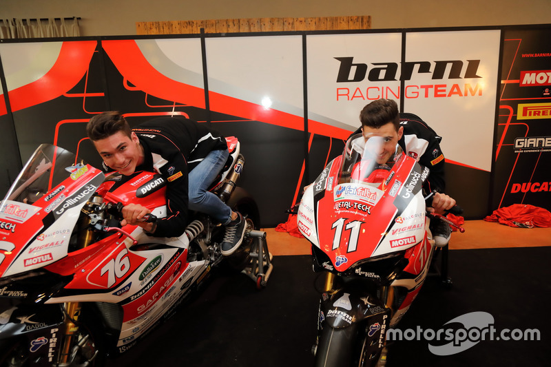 Samuele Cavalieri, Barni Racing Team, Matteo Ferrari, Barni Racing Team