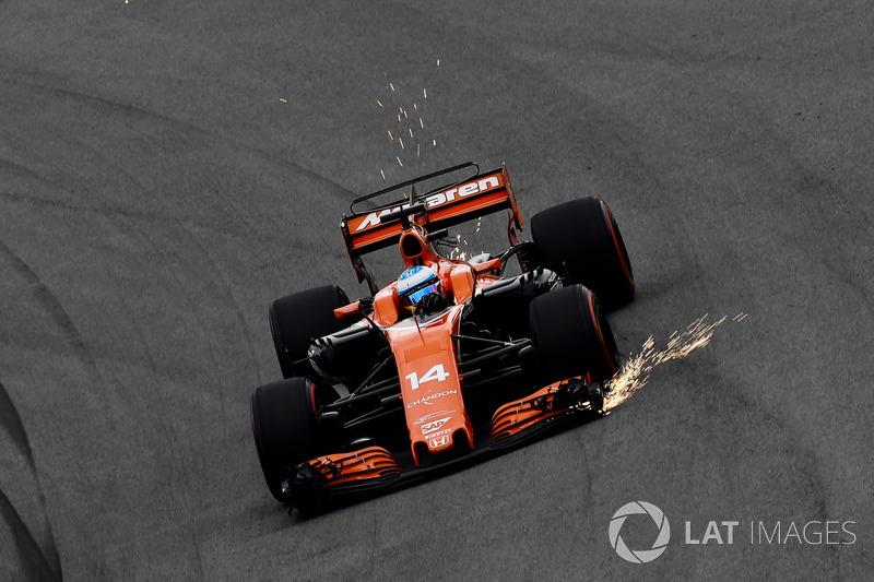 8. Fernando Alonso, McLaren MCL32