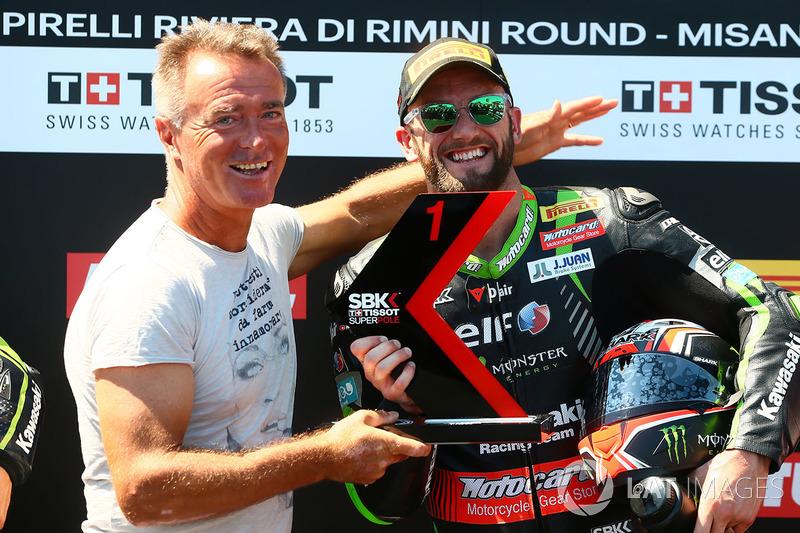 Tom Sykes, Kawasaki Racing y Pierfrancesco Chili