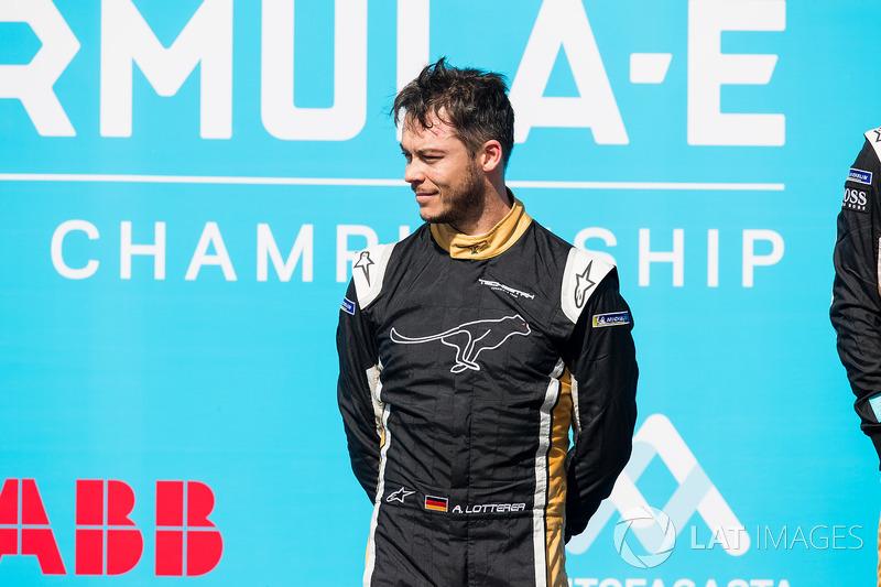 Second place Andre Lotterer, Techeetah