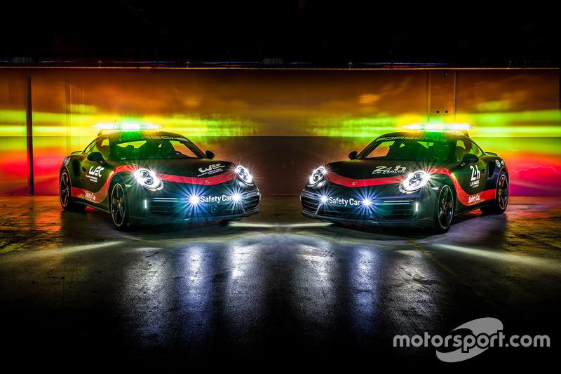 Porsche 911 Turbo, Safety Car para FIA WEC y 24h de Le Mans