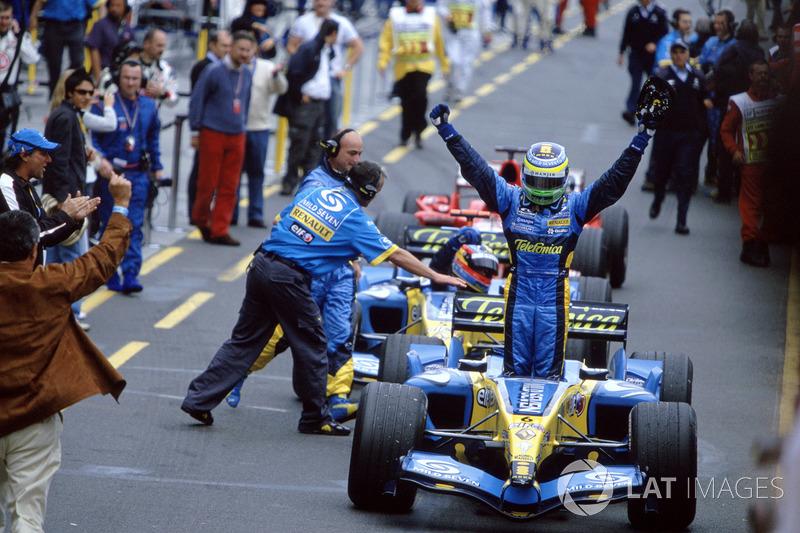 2005: Giancarlo Fisichella, Renault R25