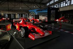 Formula 1 cars of Michael Schumacher