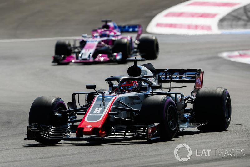 11e : Romain Grosjean (Haas F1)