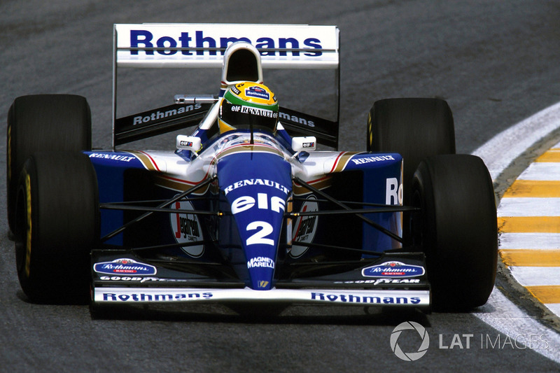 10. Williams FW16, Formula 1