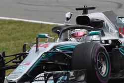 Lewis Hamilton, Mercedes-AMG F1 fête sa victoire