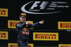 Daniil Kvyat, Red Bull Racing, third place