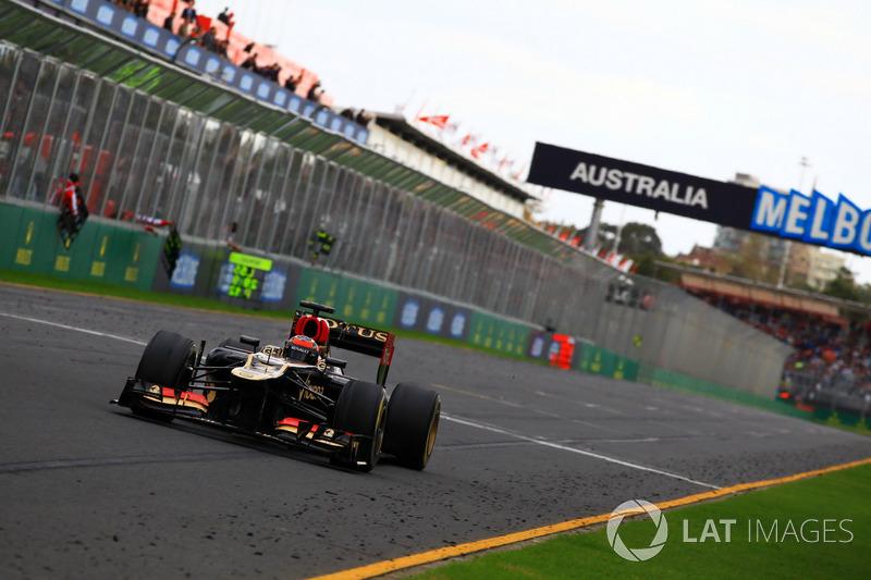 2º Kimi Raikkonen - 27 carreras - De Bahrein 2012 a Hungría 2013- Lotus F1 Team