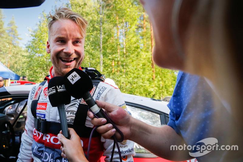 Segundo Mads Ostberg, Citroën World Rally Team