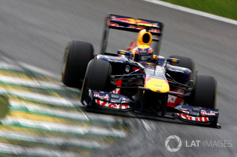 30. El Red Bull Racing RB7 de F1