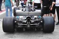 Mercedes F1 W08: Heck