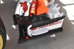 Ferrari SF70H detail front wing