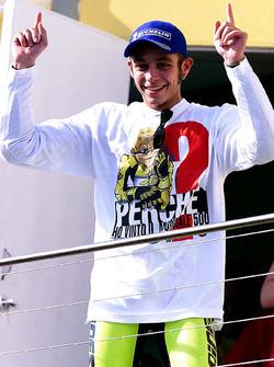 1. und Weltmeister: Valentino Rossi, Honda