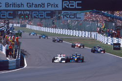 Johnny Herbert, Stewart Grand Prix, Pedro Diniz, Sauber