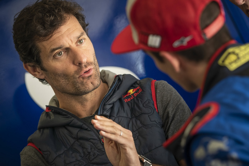 Mark Webber and Marc Marquez