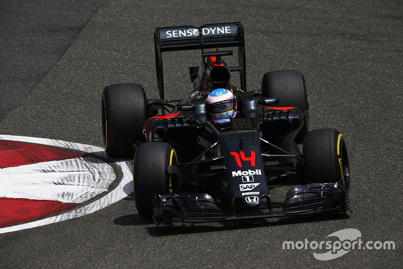 2016 : Fernando Alonso, McLaren MP4-31