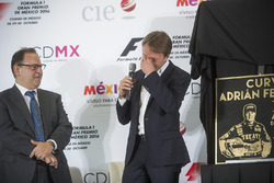 Federico Gonzalez Compean, General Director CIE, Adrian Fernandez