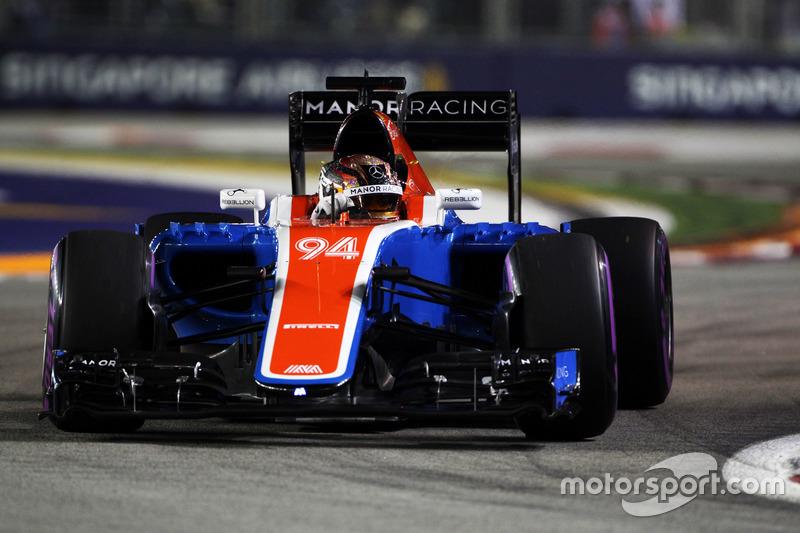 19º: Pascal Wehrlein, Manor Racing MRT05