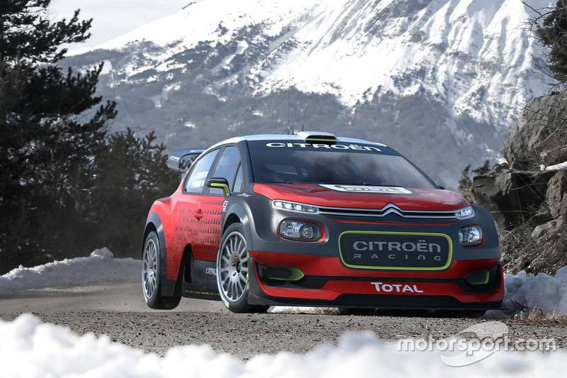 Концепт-кар Citroën C3 WRC