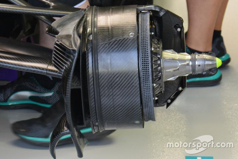 Mercedes AMG F1 W07 Hybrid: Bremse