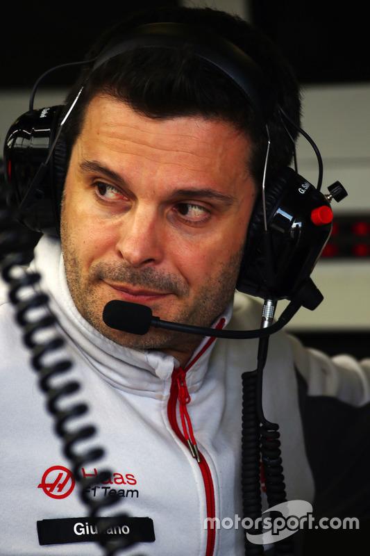 Giuliano Salvi, Haas F1 Team ingenieur