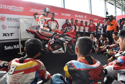 Marc Marquez coaching clinic