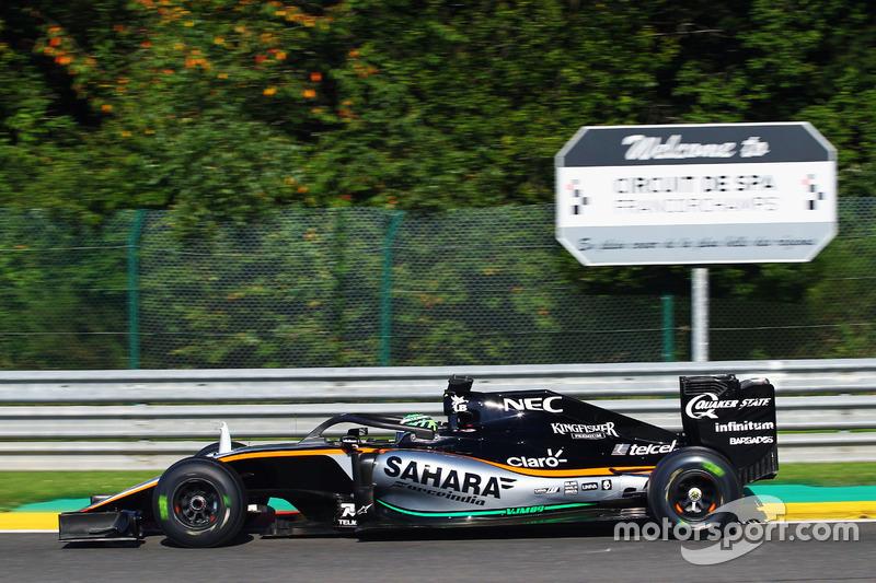 Nico Hulkenberg, Sahara Force India F1 VJM09 con il dispositivo Halo