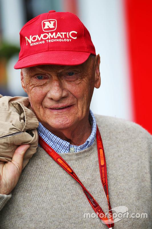 Niki Lauda, Mercedes Fahri Başkanı