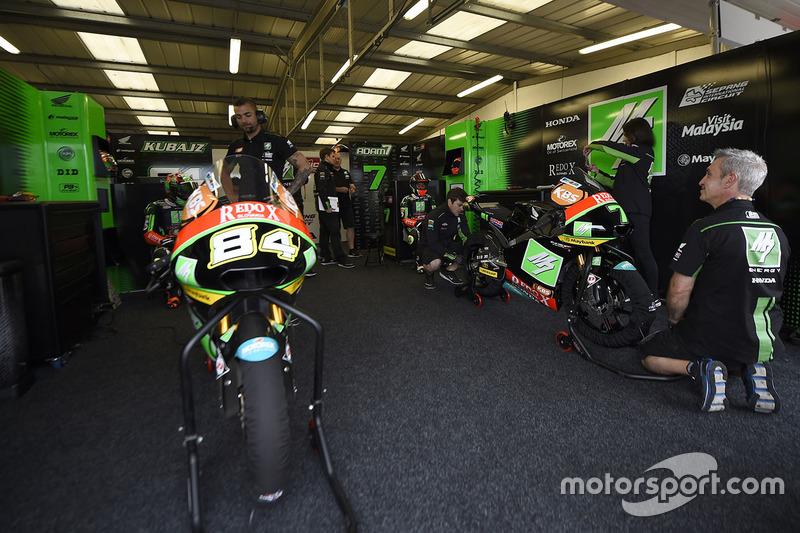 SIC Racing Team garage