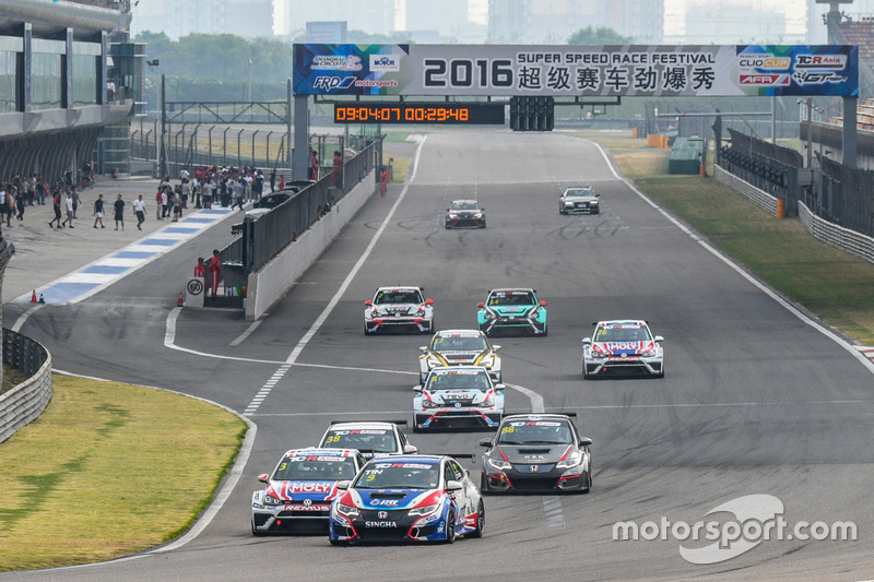 TCR Asia Series, via di Gara 1