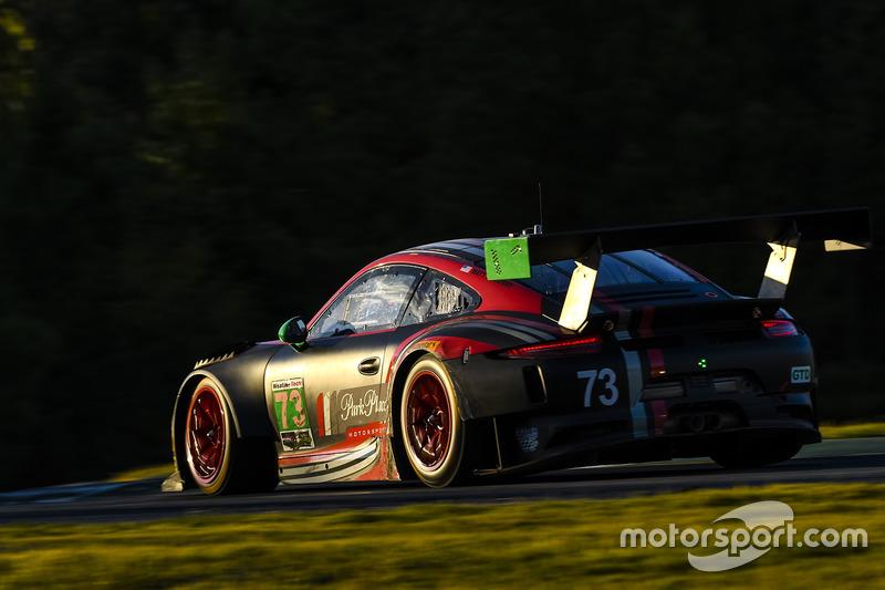 9. #73 Park Place Motorsports Porsche GT3 R: Patrick Lindsey, Jörg Bergmeister, Matt McMurry