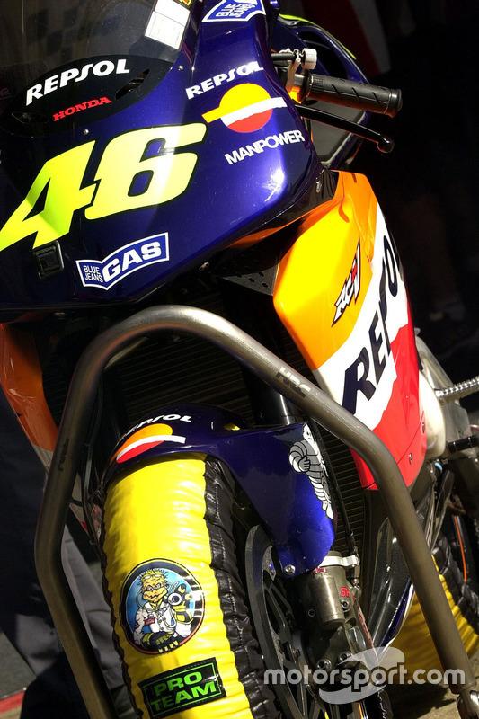 Valentino Rossi, Honda Team moto detail