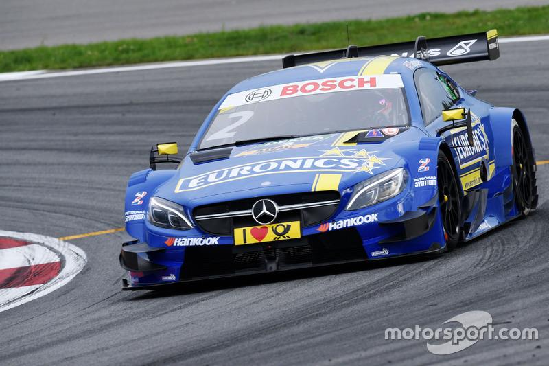 18. Gary Paffett, Mercedes-AMG Team ART, Mercedes-AMG C63 DTM