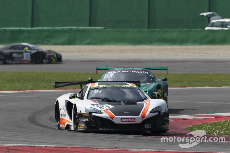 Martin Plowman  Craig Dolby, McLaren 650 S GT3, Garage 59
