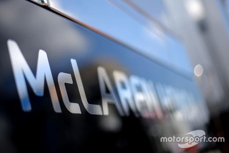 McLaren Honda motorhome detail
