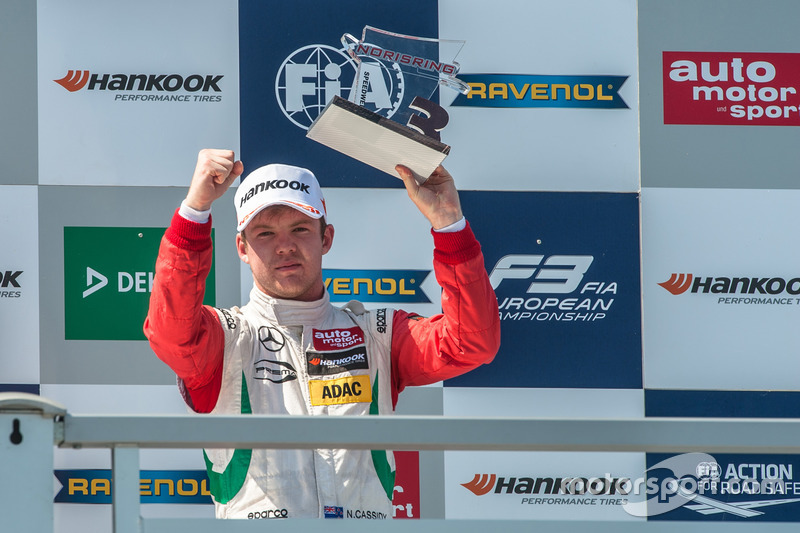 Podyum: Nick Cassidy, Prema Powerteam Dallara F312 - Mercedes-Benz