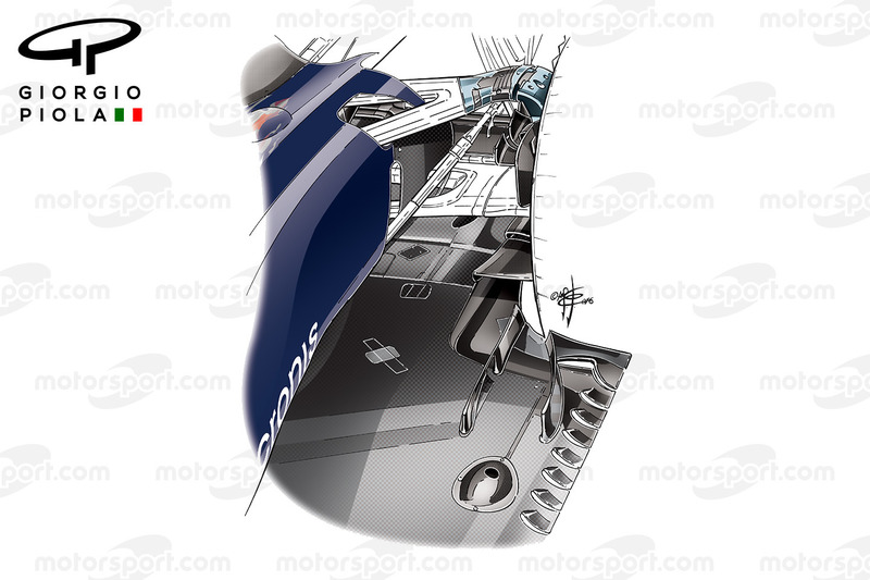Toro Rosso STR11 diffuser duct, German GP
