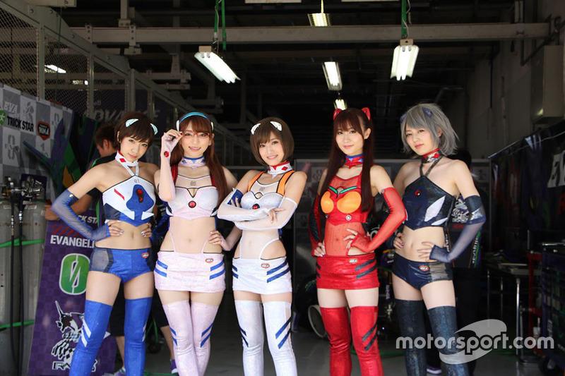 Lovely Eva Racing girls