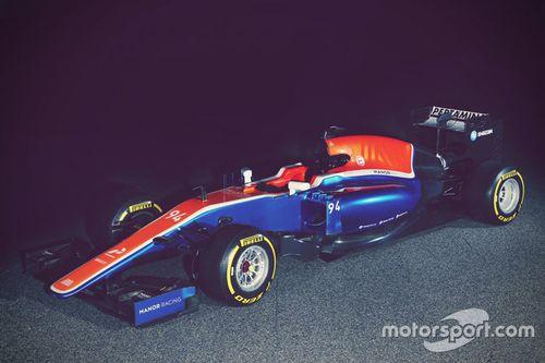 Презентация машины Manor Racing