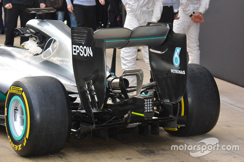 Detail, Mercedes AMG F1 Team W07