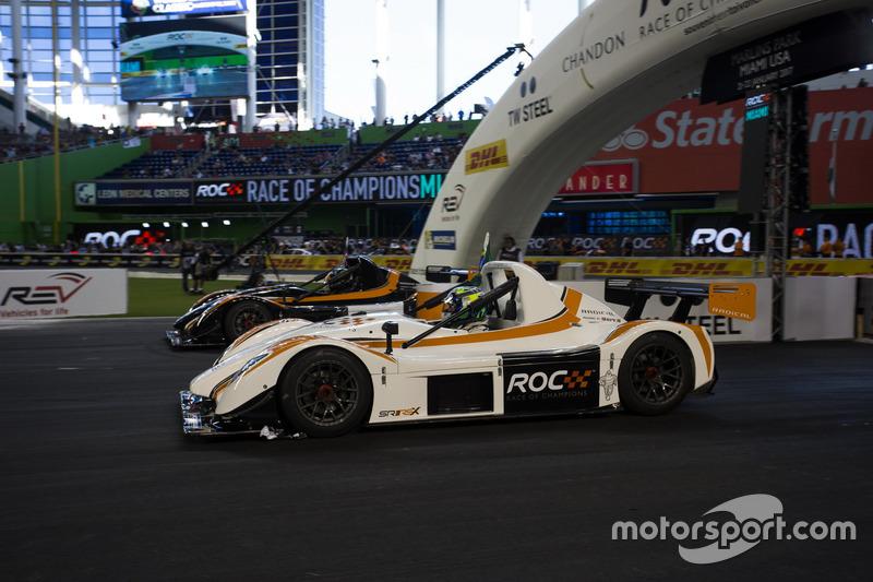 Felipe Massa, carrera de Kurt Busch en el Radical SR3 RSX